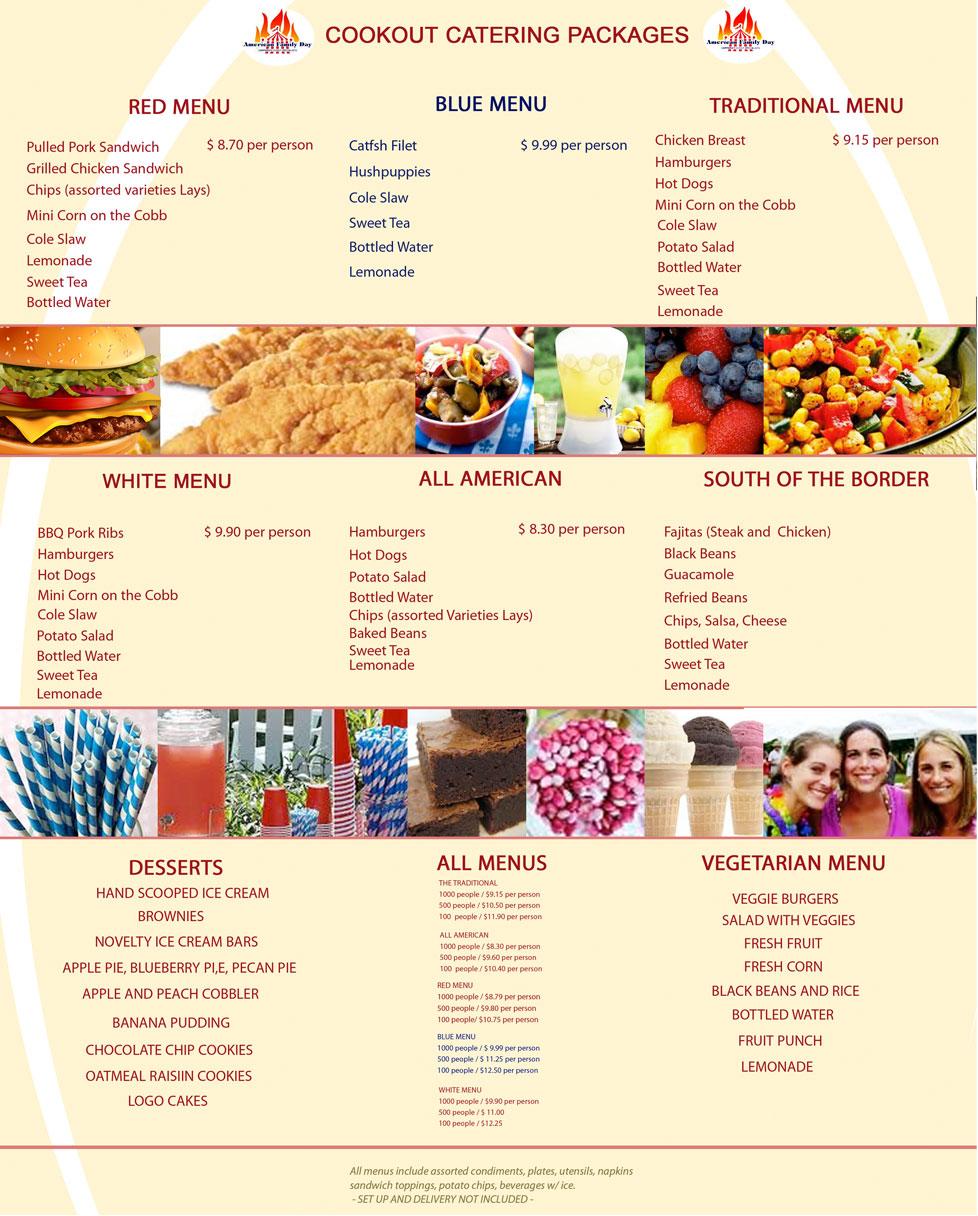 Bbq Food List Ideas