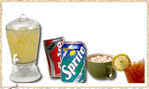 Holiday Catering Beverage items