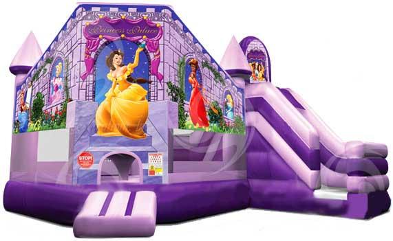 Disney Princess Inflatable Bouncer Castle With Slide