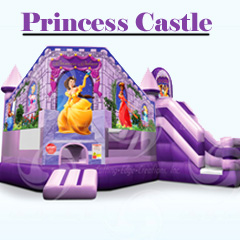 Princess Castle, Inflatable Combo, rent, cobb county, marietta, kennesaw, canton, smyrna