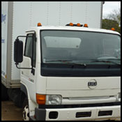 Boxed Freight Truck for Courier Services