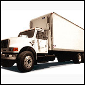 Boxed Freight Truck