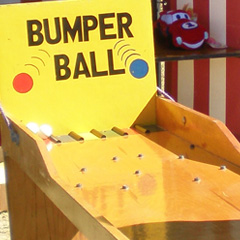 Bumper Ball carnival game