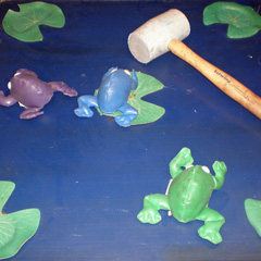 Frog Launch carnival game
