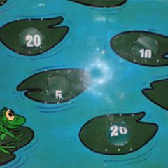 Frog Pond carnival game