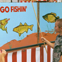 Go Fish carnival game