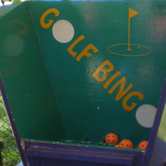 Golf Bingo carnival game