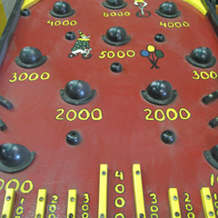 High Score Pin Ball carnival game
