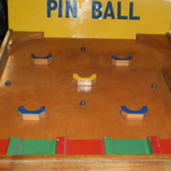 Pin Ball carnival game