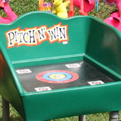 Pitch and Win carnival game