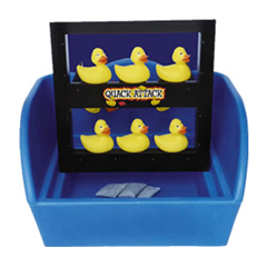 Quack Attack duck carnival game