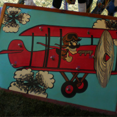 Red Baron carnival game