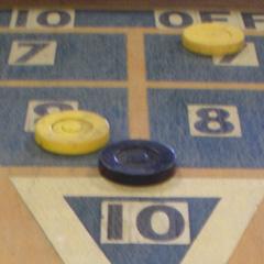 Shuffle Board carnival game