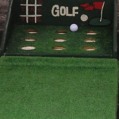 Tic Tac Toe Golf carnival game