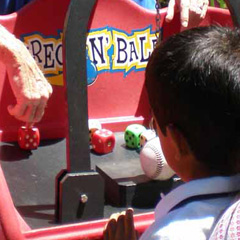 Wreck and Ball carnival game