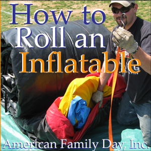 How to Roll an Inflatable