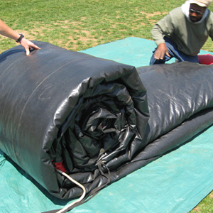 How to roll the Inflatable