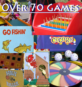 Rent Carnival Games & Rent Festival Games for Cobb County, Marietta, Atlanta, Canton, Georgia