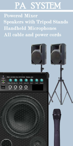 public address system, PA, music player, sound, speakers