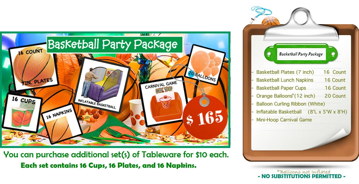 Basketball Carnival Package