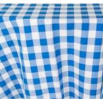 Gingham Check Square Table Cloth