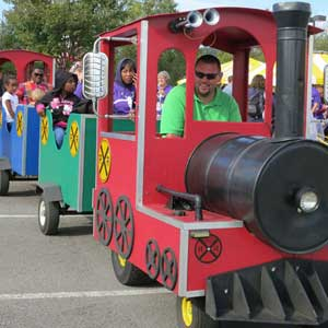 Trackless Train for Rent in Marietta, GA