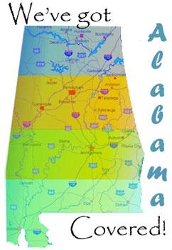 Company Picnic for Alabama, Birmingham, Montgomery, Mobile, Huntsville, Tuscaloosa