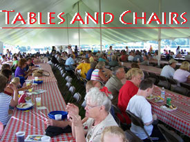 Marietta, GA Tables and Chairs Rentals