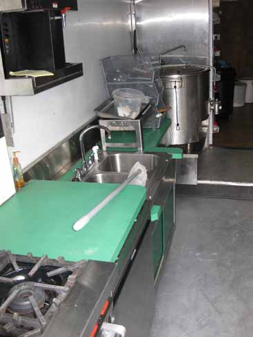 Mobile Kitchen for Sell