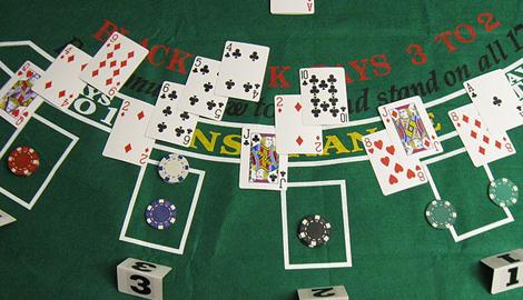 Blackjack Layout