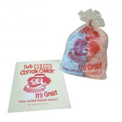 Cotton Candy Bags Red Clown Design #3065