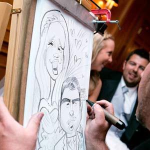 caricature artist atlanta