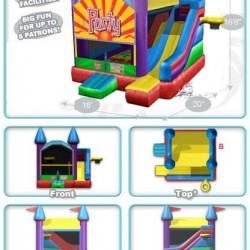 party castle bounce house