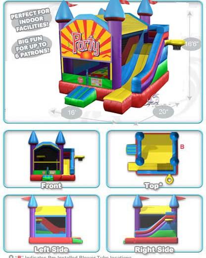 party castle bounce house
