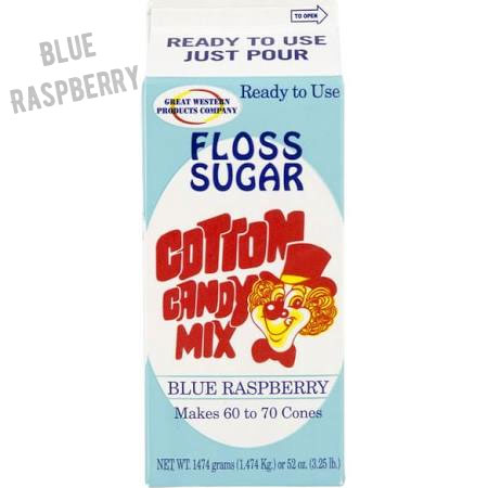Blue Raspberry Cotton Candy Sugar