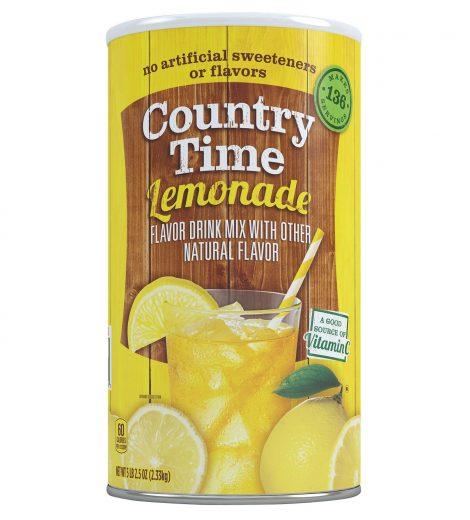 Country Time Lemonade Mix, Makes 34 Quarts