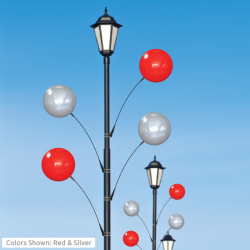 Single Light Pole Balloon Kit
