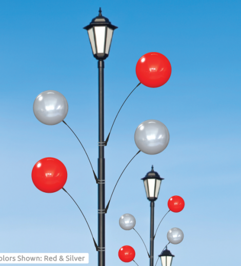 Single Light Pole Balloon Kit