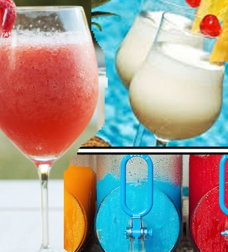 Frozen Drink Mix Supplies