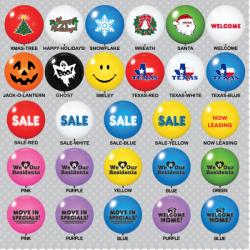 Everlasting Helium Free Logo Balloons