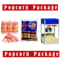 Popcorn Party Package