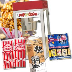Popcorn Package Caramel