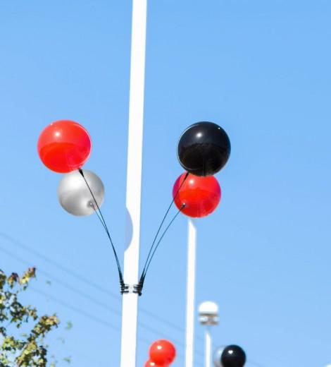 Quad Balloon Light Pole Kit