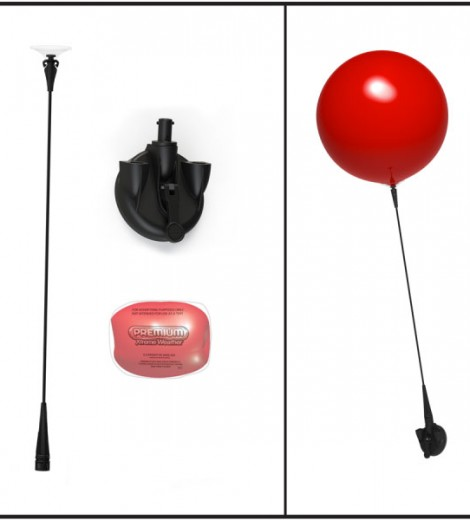 Single Suction Cup Kit Parts