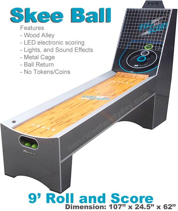 skee ball rental