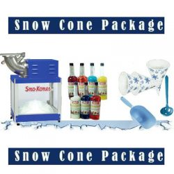 Snow Cone Package Deal