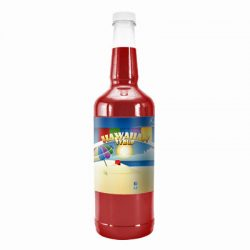 Snow Cone Quart Bottle