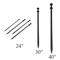 inflatable tent stake