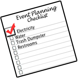 Georgia event planning checklist