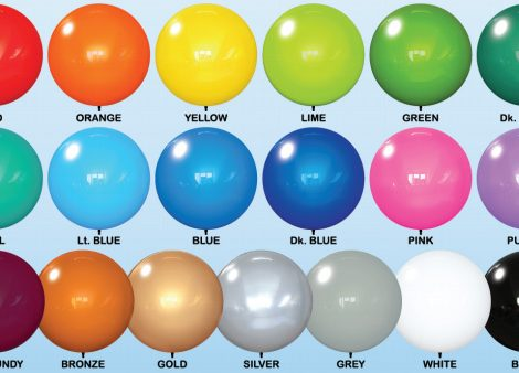 Reusable Balloons on a Stick Colors